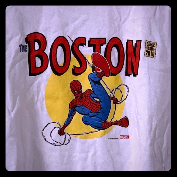 Other - Boston Comic-Con 2016 Spider-Man T-Shirt